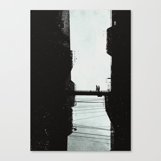 Highrise Canvas Print