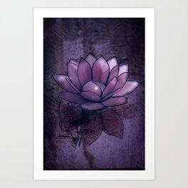 Lotus Light Art Print
