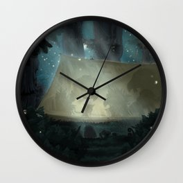 A vulture's nightmare Wall Clock
