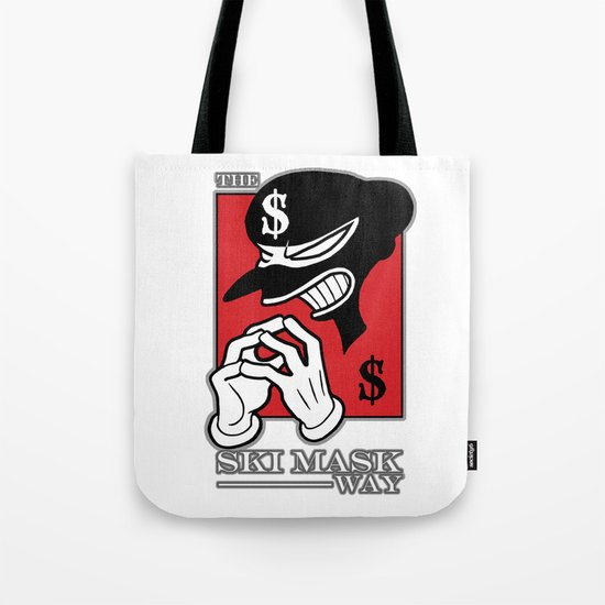 The Ski Mask Way Tote Bag