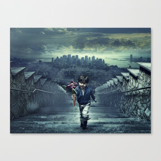 child of New York Canvas Print