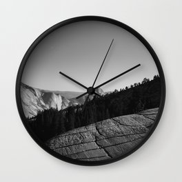 Olmsted Point, Yosemite National Park IV Wall Clock