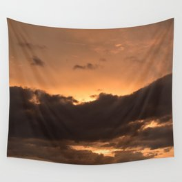 Costa Rican Sunset Wall Tapestry