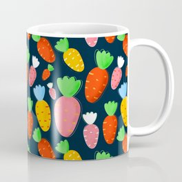 Carrots not only for bunnies - seamless pattern Coffee Mug