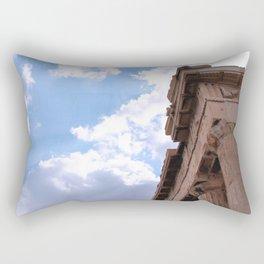 Sky above Parthenon Rectangular Pillow