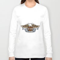 harley Long Sleeve T-shirts featuring harley by Megoer