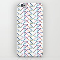 dna iPhone & iPod Skins featuring DNA by FACTORIE