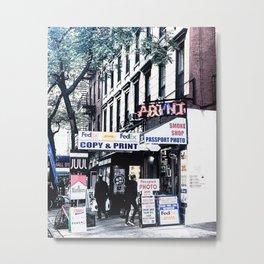 PRINT_NYC Metal Print