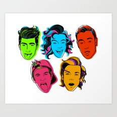 One Direction Art Print