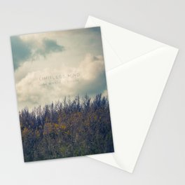 Limitless Mind Stationery Cards