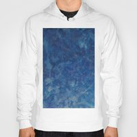 blues Hoodies featuring BLUES by Dash of noir