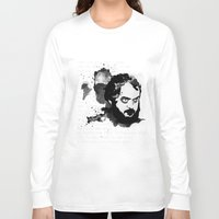 stanley kubrick Long Sleeve T-shirts featuring Stanley Kubrick by Kongoriver