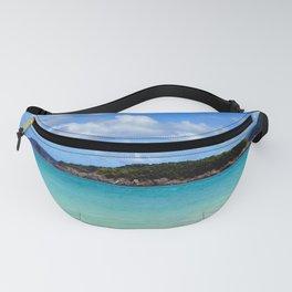 Watercolor Cinnamon Bay Beach Fanny Pack