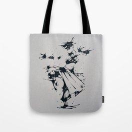 Splaaash Series - Dance Fighter Ink Tote Bag