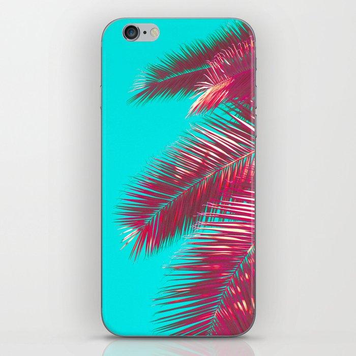 Neon Palm iPhone Skin