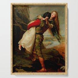 "John Everett Millais ""The Crown of Love"" Serving Tray"