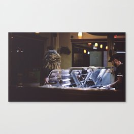 The Usual Canvas Print
