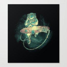 Scratch the Universe Canvas Print