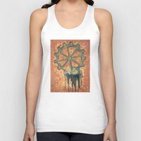 gears of war Tank Tops featuring Steampunk Gears by Perri MacKenzie
