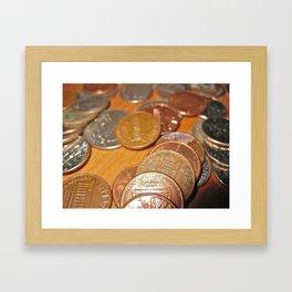 Cents Framed Art Print