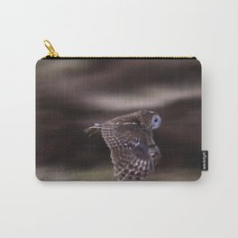 TAWNY OWL FLIGHT Carry-All Pouch