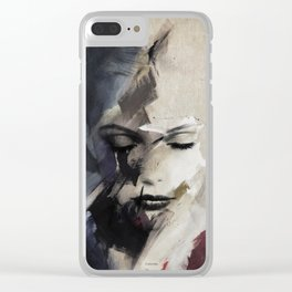 Perception of beauty Clear iPhone Case