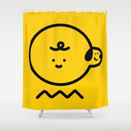 Charloopy Shower Curtain