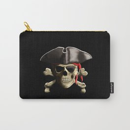 The Jolly Roger Pirate Skull Carry-All Pouch
