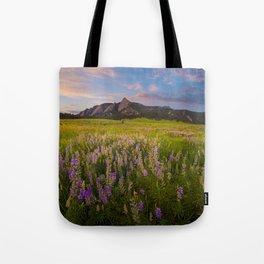 Boulder In Bloom Tote Bag
