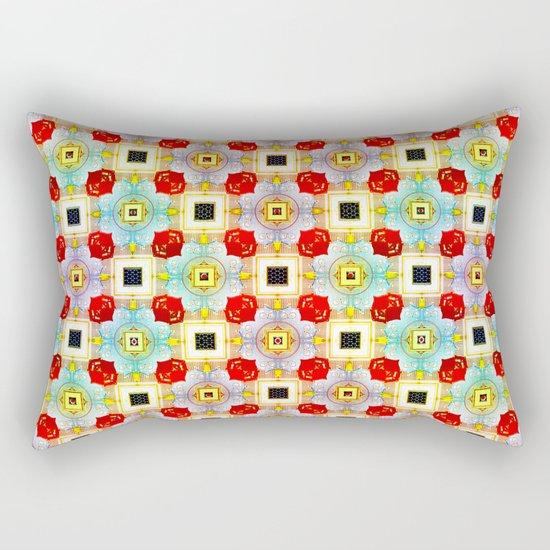 Embellecimiento Pattern Rectangular Pillow