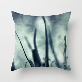 Plants in a dashed Dream Throw Pillow