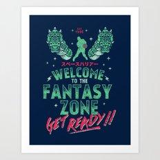 Get Ready! Art Print