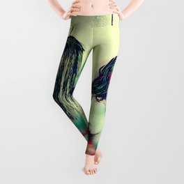 Stemmed with the mind and energy Leggings