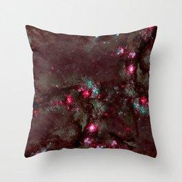 Nebula texture #45: Stary Night Throw Pillow