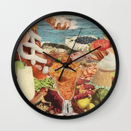 The Smörgåsbord Wall Clock