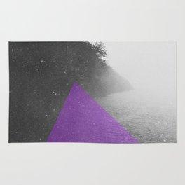 NEON NATURE | Purple Rug
