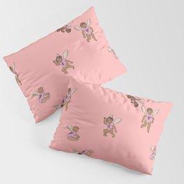 Cupid Legion Pattern- Pink Pillow Sham