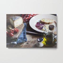food still life Metal Print