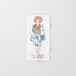 Miss Orchid Elegance Hand & Bath Towel