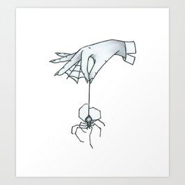 Spiders Web Art Print