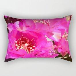 Beavertail Cactus in Bloom - III Rectangular Pillow