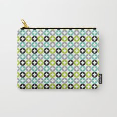 Lime Aqua Moroccan Carry-All Pouch