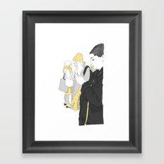Call Girls Framed Art Print
