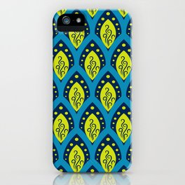 Peacock Patterns iPhone Case