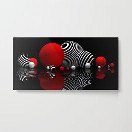round and beautiful Metal Print