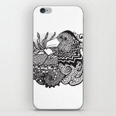 Conscious State Of Dreaming BW iPhone Skin