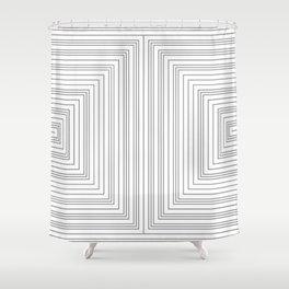 Greek 2 Shower Curtain
