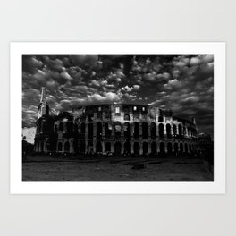 Gladiators in Rome Art Print