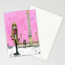 Special Edition Holiday Print: Place de la Concorde by David Cessac Stationery Cards
