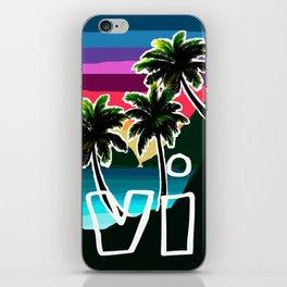 USVI sunset iPhone Skin